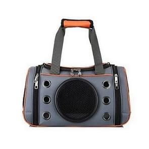 Outdoor Travel Pet Carrying Case Bag Comfortable Space Capsule Portable Pet Breathable Handbag, Size:L(Orange)