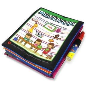 Magic Water Painted Graffiti Drawing Book Children Educational Toys(Character)