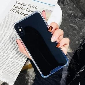 Luxury Plating Mirror Acrylic TPU Case for iPhone 8 & 7(Gray)