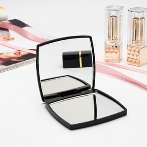 2 PCS Mini Square Double-sided Portable Vanity Mirror