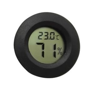 LCD digitale aquarium thermometer mariene water terrarium accessoires temperatuur meetinstrument (zwart)