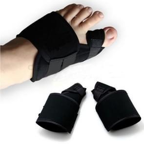 1 paar zachte bunion corrector teen separator splint correctiesysteem hallux valgus voetverzorging pedicure orthesen  maat: S