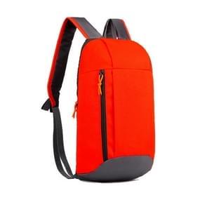 Unisex sport Oxford doek rugzak Hiking rugzak (rood)