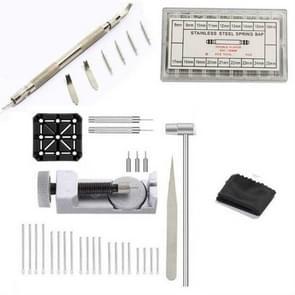 HQ0019 107 in 1 Horloge Reparatiegereedschap set Lug Pin Pin Pin Change Strap Tool Set