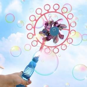 5 PCS Windmill Bubble Machine Kleurrijke Bubble Stick  Willekeurige kleur levering