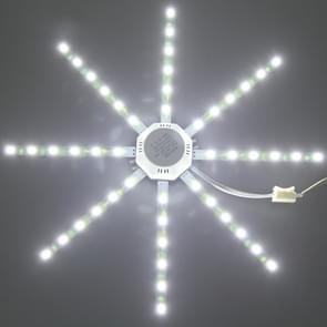 24W SMD 5730 Octopus LED Ceiling Lamp Light Board Energy Saving Expectancy LED Light, AC 220V(Cold White)