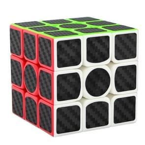 Carbon Fiber Membrane Third-order Rubik Cube Children Educational Toys