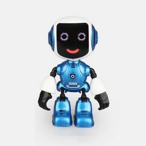 Intelligente mini Alloy robot Kinder vroeg onderwijs educatief speelgoed (blauw)
