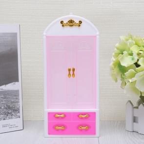 10 stuks Doll House slaapkamer meubilair accessoires kinderen educatief speelgoed kledingkast