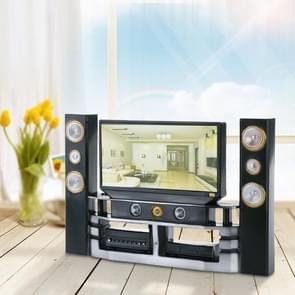 Home Theater Accessories Plastic TV Toy Dollhouse Furniture Kids Toy