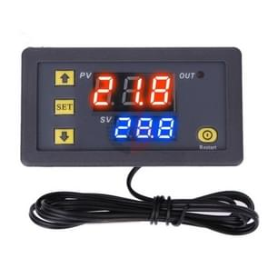 Hoge precisie Microcomputer Intelligent Digital Display Switch Thermostat  Style:12V Voeding (Rood en Blauw Display)