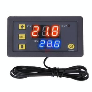Hoge precisie Microcomputer Intelligent Digital Display Switch Thermostat  Style:24V Voeding (Rood en Blauw Display)