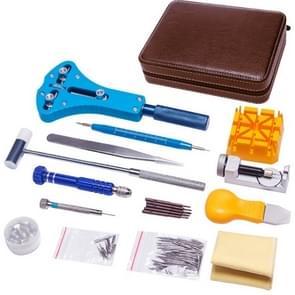 143 in 1 Watch Remover Watch Repair Tool PU Storage Bag Set (Bruin)