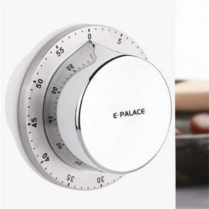 E-PALACE Magnet Timer Keuken Roestvrij stalen timer creatieve wekker mechanische herinnering Countdown Pomodoro