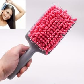Haardroger Haarkam Waterabsorberende Fast Airbag Massage Comb Comb Comb (Roze)