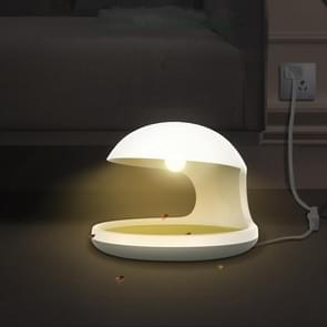 Flea Trap Lamp Bed Home Gebruiken om huisdier katten en honden te elimineren  CN Plug (Wit)