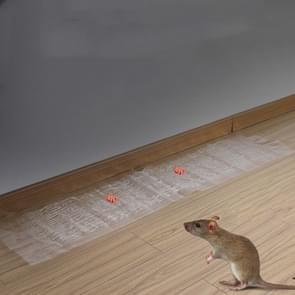 Anti-knaagdier Sterke Sticky Board Transparante Sticky Mouse met Mousetrap Lijm