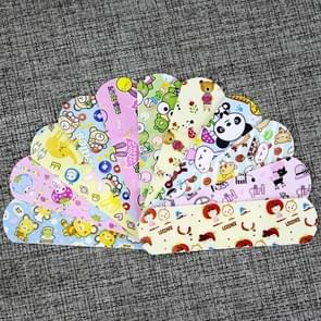 100 Pcs / Box Lovely Waterproof Breathable Cute Cartoon Band Aid Hemostasis Adhesive Bandages (Color Random Delivery)