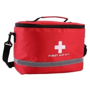 Outdoor First Aid Kit Sports Camping Bag Home Medical Emergency Survival Package(Red)