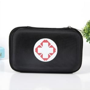 Outdoor EVA Oxford Cloth Anti-pressure First Aid Kit Bag(Black)