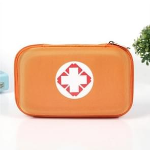 Outdoor EVA Oxford Cloth Anti-pressure First Aid Kit Bag(Orange)