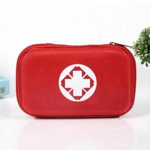 Outdoor EVA Oxford Cloth Anti-pressure First Aid Kit Bag(Red)