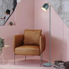 Creatieve persoonlijkheid smeedijzeren vloerlamp woonkamer slaapkamer bed studie stand lamp (blauw)