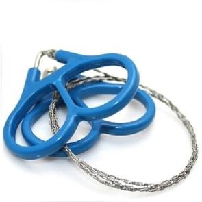 EDC Emergency Stainless Steel Wire Saw Outdoor Practical Camping Hiking Manual Steel Rope Chain Saw Survival Tools