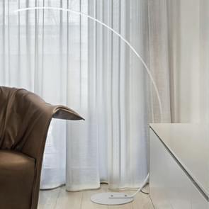 Eenvoudige creatieve visserij type lezing tafellamp woonkamer sofa slaapkamer vloer lamp  lichte kleur: geel licht (wit)