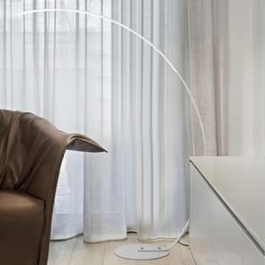 Eenvoudige creatieve visserij type lezing tafellamp woonkamer sofa slaapkamer vloer lamp  lichte kleur: wit licht (wit)