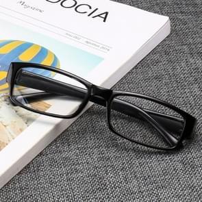 Suyan Artifact Plain Glass Spectacles Light Frame Glasses(Black)