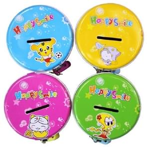 4 PCS Tin Piggy Bank Kindergarten Gifts for Kids, Random Color Delivery