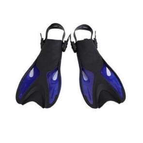 Blauwe volwassen kinderen verstelbare flippers snorkeluitrusting  grootte: 37-41 werven