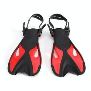Rode volwassen kinderen verstelbare flippers snorkeluitrusting  grootte: 42-45 werven