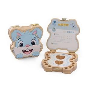 Wisdom Bunny Baby Teeth Collection Box  Specificatie:Chinees