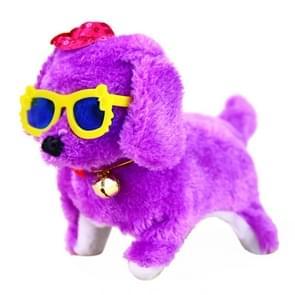 Schattig elektronisch beweegbare huisdier puppy kinderen speelgoed cadeau  willekeurige kleur levering