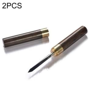 2 PCS Puer Tools Tea Cone Needle For Breaking Prying Tea Brick Professional Tool, Size:06