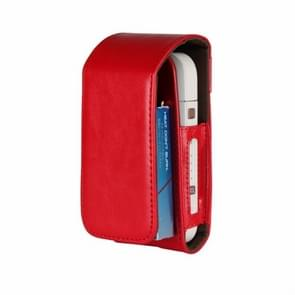 Portable Mini Bag for IQOS for IQOS 2.4 Plus Universal Case Cover Protective Pouch(Red)