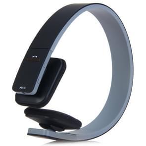AEC BQ618 slimme draadloze Bluetooth Stereo Handsfree oortelefoon met microfoon  ondersteuning van 3 5 mm voor telefoon / Tablet / PSPs(Black)