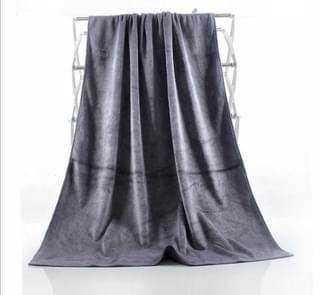 Microfiber Women Sexy Bath Towel Wearable Beach Towel Soft Beach Wrap Skirt Super Absorbent Bath Gown Quick Dry Towel, Size:200cmx100cm(Grey)