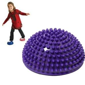 Hemisphere Balance Stepping Stones Durian Spiky Massage Ball Sensory Integration Indoor Outdoor Games Toys for Kids Children(Purple)
