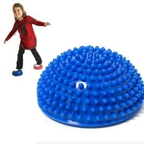 Hemisphere Balance Stepping Stones Durian Spiky Massage Ball Sensory Integration Indoor Outdoor Games Toys for Kids Children(Blue)