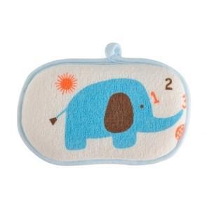 Comfortable Soft Towel Bath Brushes Infant Rubbing Body Wash Sponge Shower Products(Blue)