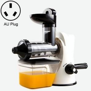 Multifunction Home Manual Juicer Apple Orange Wheatgrass Portable DIY Juicer, Plug Type:AU(WHITE)