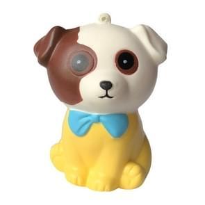 Squishy Slow Rising squeeze Kid speelgoed stress relief speelgoed voor kinderen kerstcadeau (geel)