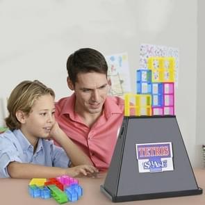 Square Building Block Stapelen Spel Early Education Puzzel Tafel Spel Speelgoed