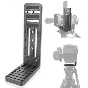 BXIN L130C L-vormige verticale clapper hydraulische pan/kantelbare snelontspannendplaat voor DJI RONIN-S Gimbal