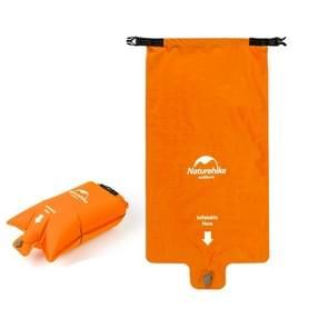 Naturehike Outdoor Ultralight Slaapkussen Opblaasbare Tas (Kleurrijke Oranje)