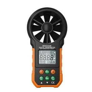 PEAKMETER High-precision Digital Display Wind Speed Air Volume Measuring Instrument MS6252B Temperature, Humidity, USB