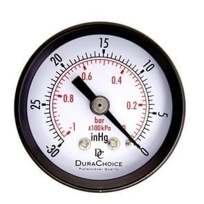 Double Scale Vacuum Mini Shockproof Pressure Gauge